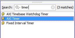 Add AXI-Timer