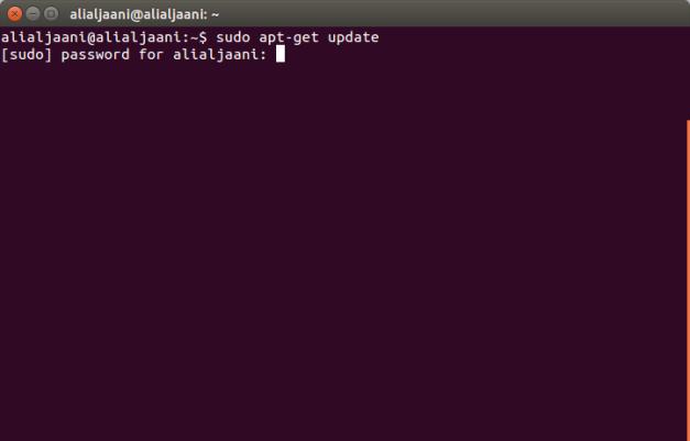 apt-get update