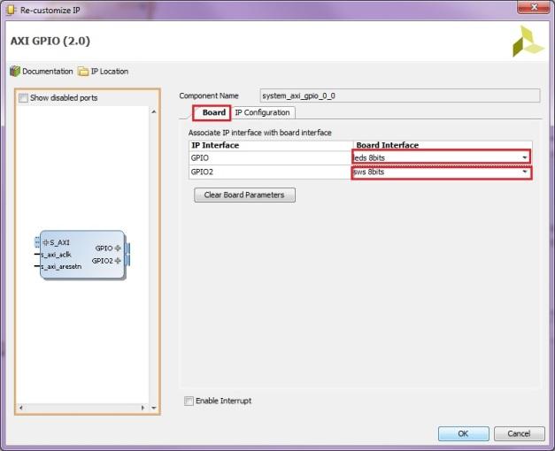 Configure dual channels GPIO