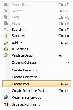 Create Port