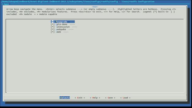 PetaLinux Zedboard