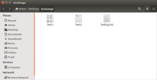 FTP Directory - Host Machine