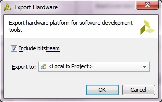 Export Hardware to SDK