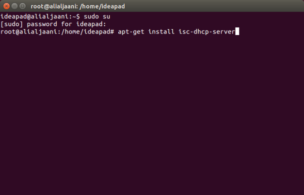 Download and Install DHCP Server