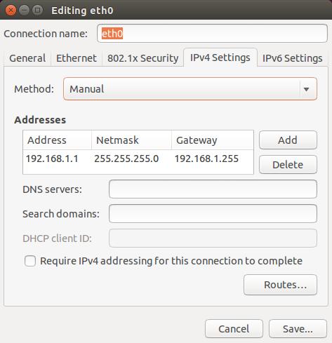 IPv4Settings