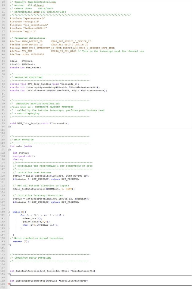 Lab4.c Application