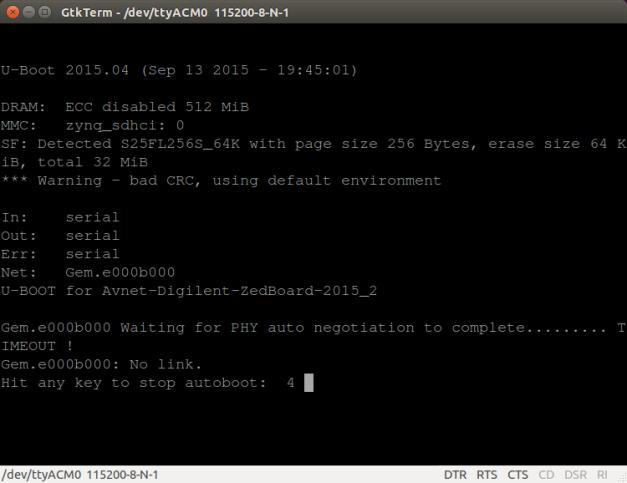 PetaLinux Reboot