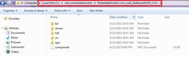 ZEDboardOLED source code after extraction