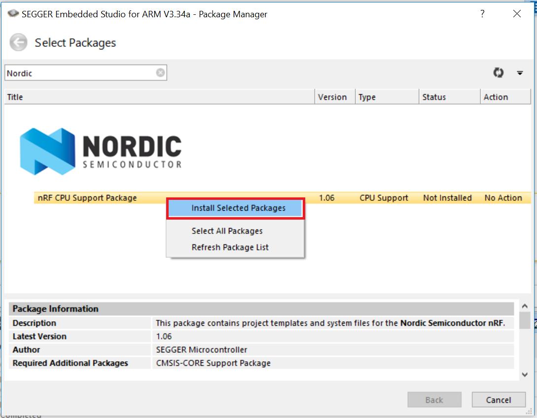 Segger Embedded Studio for Nordic nRF5x tutorial   Embedded Centric