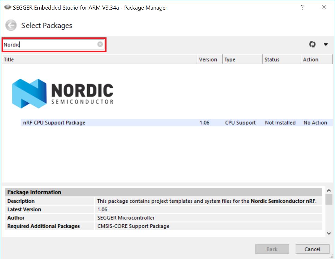 Segger Embedded Studio for Nordic nRF5x tutorial | Embedded Centric