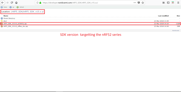 nRF5 SDK v15.0.0 Download
